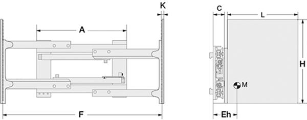 Modell 3-03G (mit integriertem Seitenschub)