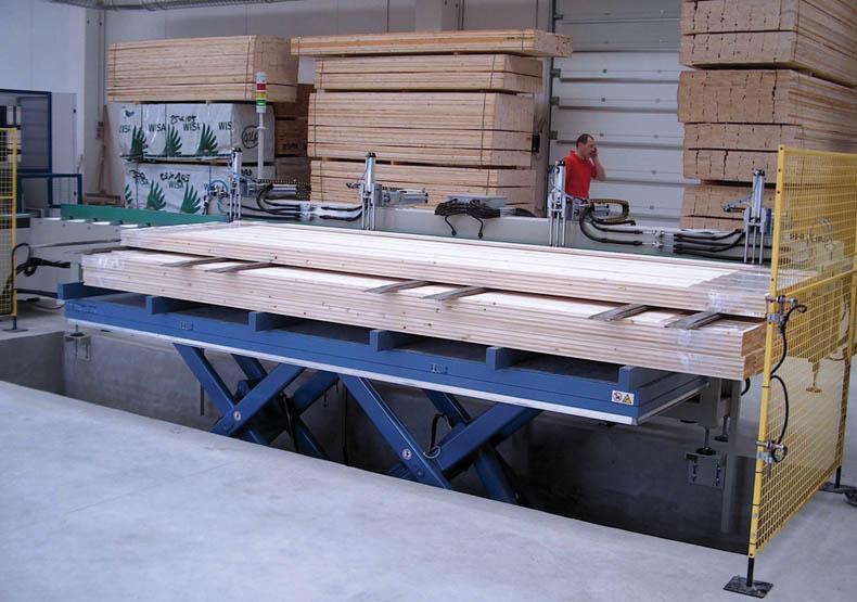 Lift Tables Tandem Scissor Lift Tables Bolzoni