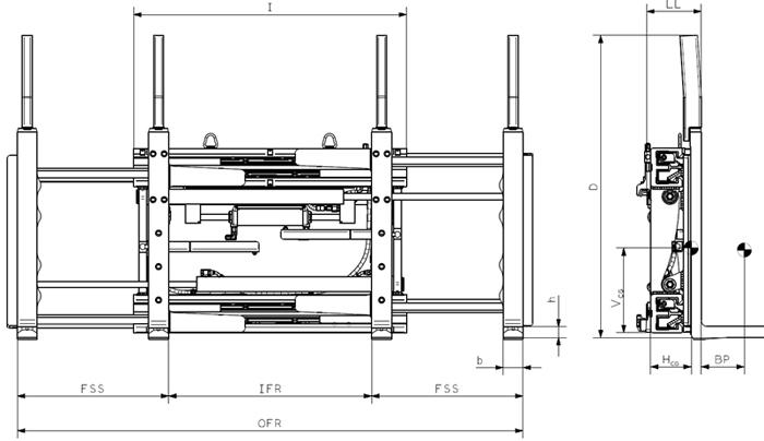 Models DS-FK (Sideshifting)