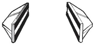 Flat Slip-On Arms for Pallet Forks
