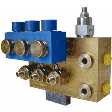 Four-Stage Pressure-Relief Valve (electrically controlled)
