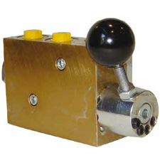 Four-Stage Pressure-Relief Valve (manually controlled)